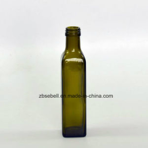 250ml Marasca Oil Bottles with Dark Green Color pictures & photos