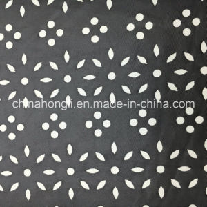 Laser Cut P/Sp 95/5 Single Jersey Knitting Fabric with PU Coating pictures & photos