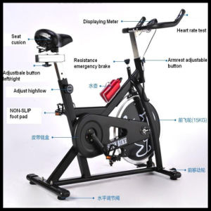 Exercise Spin Bike (TR-6001) Black Color