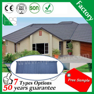 Aluminium Zinc Steel Roofing Sheet Stone Tile Building Material Stone Coated Metal Roof Tile pictures & photos