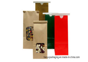 Stand up Paper Bag with Window pictures & photos