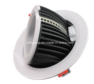 60W LED Round Gimbal Down Light with Trunk Design Thicker Aluminum Radiator pictures & photos