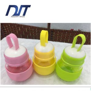 High Boron Silicon Drinking Water Bottle with Silicone Cover Wholesale pictures & photos