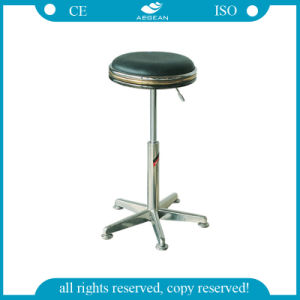 (AG-NS008) Hospital Pneumatically Lift Stool pictures & photos