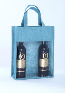 Jute Bottle Carrier (hbjw-6) pictures & photos