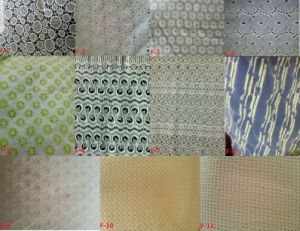 100%Cotton Woven Embroidery Fabric (EMB#F) pictures & photos