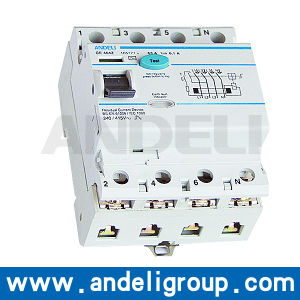 4 Pole RCCB Residual Current Circuit Breaker (DZL5) pictures & photos
