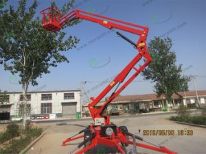 High Rise Working Platform Boom Lift pictures & photos