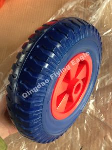 "8 Inches 8""X2.50-4 Polyurethane Wheelbarrow Wheel, Trolley Wheel pictures & photos"