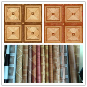 Wood Color Indoor Use PVC Roll Flooring pictures & photos