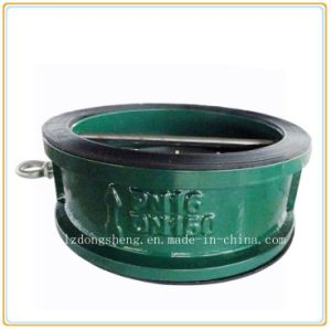 Resilient Seated Swing Wafer Ends Check Valve Manufacturers pictures & photos