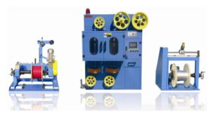 Double-Layer Taping Machine of Extra Fine Foam-Skin Wire pictures & photos