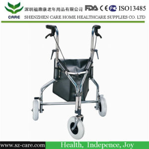 Height Adjustable Frame&Handles Aluminium Rollator pictures & photos