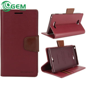 High Quality Goospery Sonata Diary Leather Wallet Case for iPhone 5 6 Plus