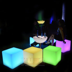 Amazing 20u2032u2032 Cube Party Light With Remote Control Indoor/Outdoor Wireless