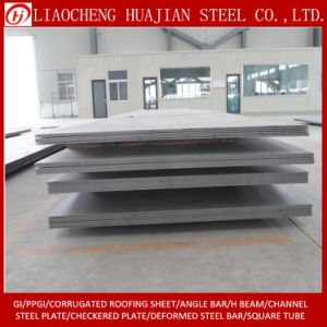 Hot Rolled Carbon Steel Plate with S235jr Material pictures & photos
