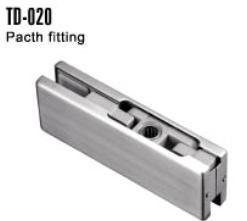 Stainless Steel Patch Fitting Glass Door Aluminum Hinge pictures & photos