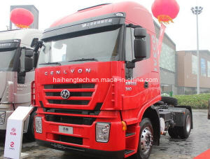 Economic Saic Iveco Hongyan Genlyon 380HP 4X2 Left Hand Tractor Truck/Trailer Head / Truck Head of Euro 3 pictures & photos