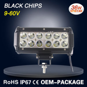 "off Road LED Driving Lighting Work Light Bar 6.5"" 36W pictures & photos"