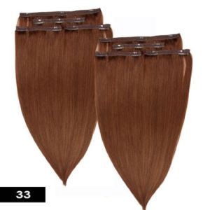 Tangle Free Brazilian Virgin Remy Clip in/on Human Hair pictures & photos