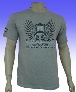 Men′s Pure Grey T-Shirt (040) pictures & photos