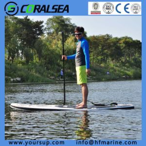 "Inflatable Sup Board Stand up Paddle Surf with High Quality (Magic (BW) 10′6"") pictures & photos"