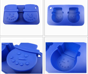 Custom Hot Summer Cool Frozen Silicone Ice Cube Tray pictures & photos