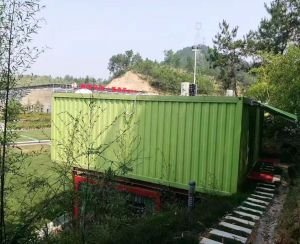 Colorful Prefab Shipping Container House Qatar pictures & photos