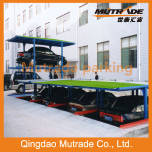 Mutrade 2-4 Floors Pit Four Post Parking System with CE/ISO9001 Certified pictures & photos
