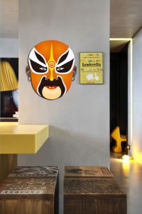 Peking Opera Mask Sticker (TP-073-19)