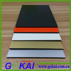Waterproof Aluminum Composite Panels Black PVDF Aluminum Composite Panel pictures & photos