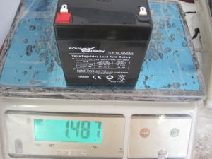 12V 5ah Solar Battery pictures & photos
