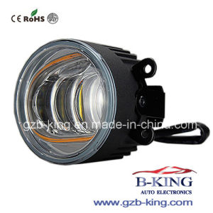 New Arrival IP67 3.5 Inch LED Fog Lamp with White/Ice Blue/Amber Halo Ring pictures & photos