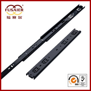 45mm Black Paint Full Extension Ball Bearing Drawer Slide pictures & photos