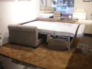 Fabric Foldable Sofa Bed for Living Room Furniture pictures & photos