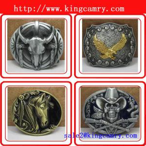 Fashion Zinc Alloy Western Cowboy Bulk Belt Buckle Man′s Buckle Roller Buckle Western Buckle pictures & photos