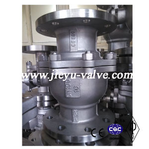 DIN Ss316/CF8m Flange Ball Valve Pn16 Dn100 pictures & photos