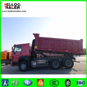 Horsepower off Road Transportation 10 Wheel Mining Tipper Dump Truck pictures & photos
