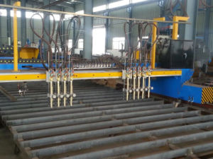 Steel Construction Plasma and Flame Cutting Machine pictures & photos