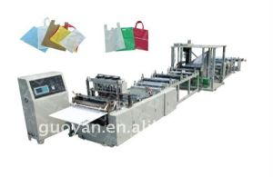 Non-Woven Bag Making Machine (loop handle bag) pictures & photos