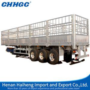 Chhgc High Quality Stake Aluminium Alloy Semi-Trailer