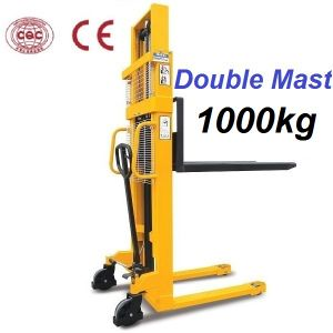 1000kg Manual Hydraulic Forklift (SDA10) pictures & photos