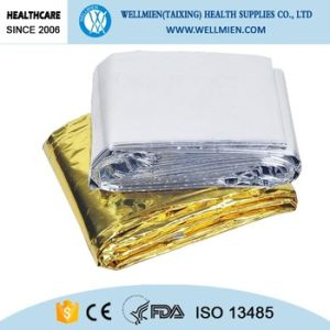 Emergency Mylar Thermal Reflective Foil Blankets pictures & photos