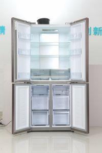 Cross Door Side by Side Refrigerator