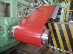 Color Coated Galvanized Steel Coil / Steel Products 0.14mm-0.8mm pictures & photos