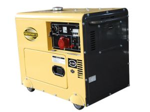 6kVA 3 Phase Soundproof Generating Set (KDE6500T3) pictures & photos