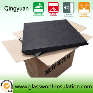 Black Wool Ceiling Panels in Cinema (600*600*20) pictures & photos