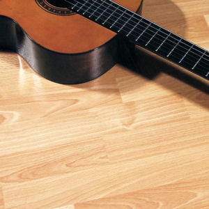AC3 E1 CE High Quality HDF Laminated Flooring U Groove pictures & photos