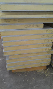 Freezer Used PU Sandwich Panel pictures & photos
