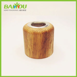 China Supplier Glass Bottle Wooden Lid pictures & photos